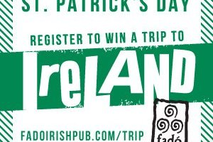 Win a Trip to Ireland from Fado Irish Pub & Restuarant