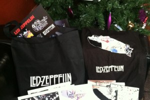 Win a Led Zeppelin Prize Pack: Deluxe CD's, T-Shirts, Bags & More!