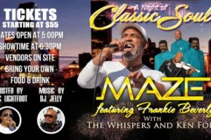 A Night of Classic Soul with Maze at Wolf Creek Amphitheater