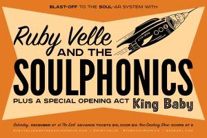 Win Tickets to Ruby Velle & The Soulphonics @ The EARL 12/27!