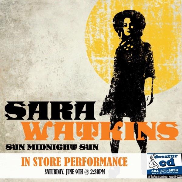 In-Store Performance! See Sara Watkins (Of Nickel Creek) At Decatur CD & Smith's Olde Bar Saturday June 9th