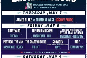 Shaky Knees Announces Late Night Shows