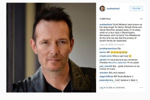 The weight of Scott Weiland's death