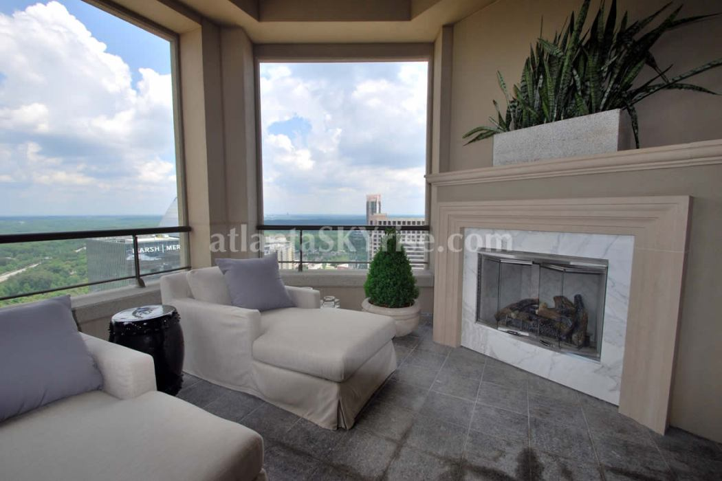 Mandarin Oriental Residences Atlanta 45A Terrace 2