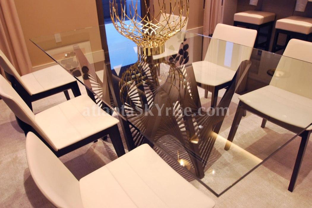 HGTV Urban Oasis 2014 Dining Room Table