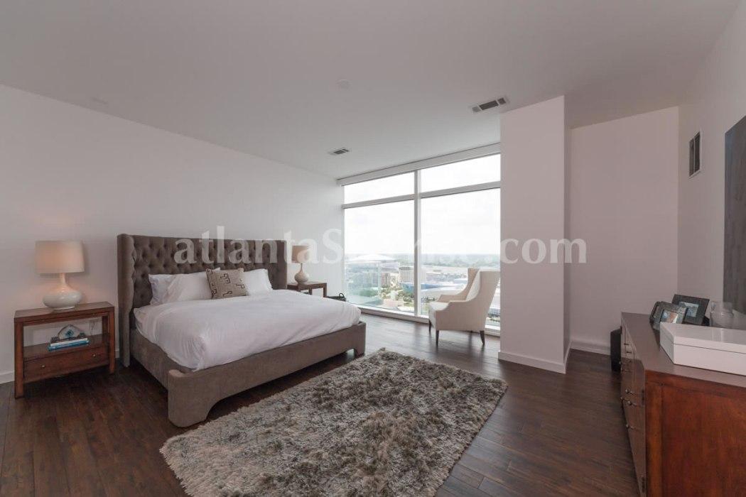 W Residences 45 Ivan Allen Penthouse 2703 Bedroom 2