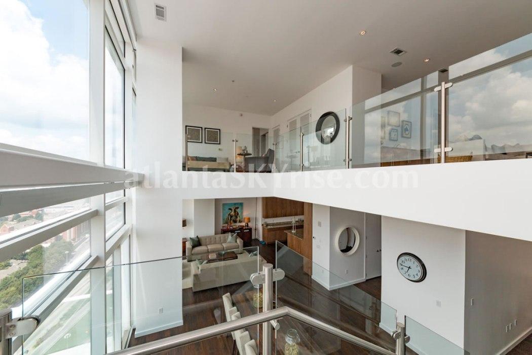 W Residences 45 Ivan Allen Penthouse 2703 Great Room 2