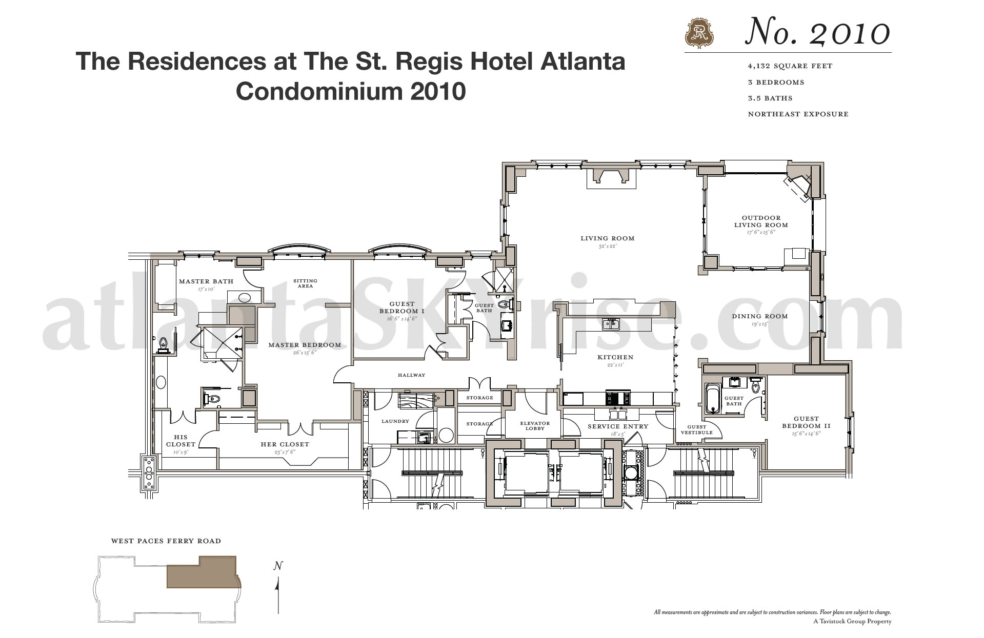 St regis residences buckhead now selling final 7 luxury for 05 buckhead floor plans