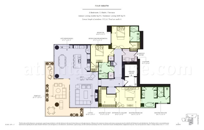 Four South Floor Plan
