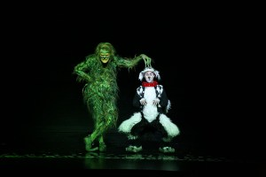 Stefan Karl as The Grinch with Seth Bazacas as Young Max. Photo by http://PAPARAZZIBYAPPOINTMENT.COM