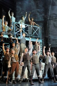 Newsies Photo courtesy of Fifth Third Bank Broadway in Atlanta.