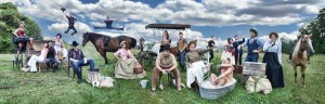 The cast of Oklahoma! Photo by BreeAnne Clowdus