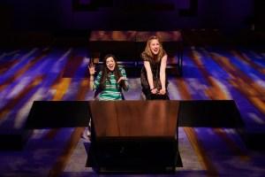 Kylie Brown and Stephanie Friedman. Photo by Chris Bartelski