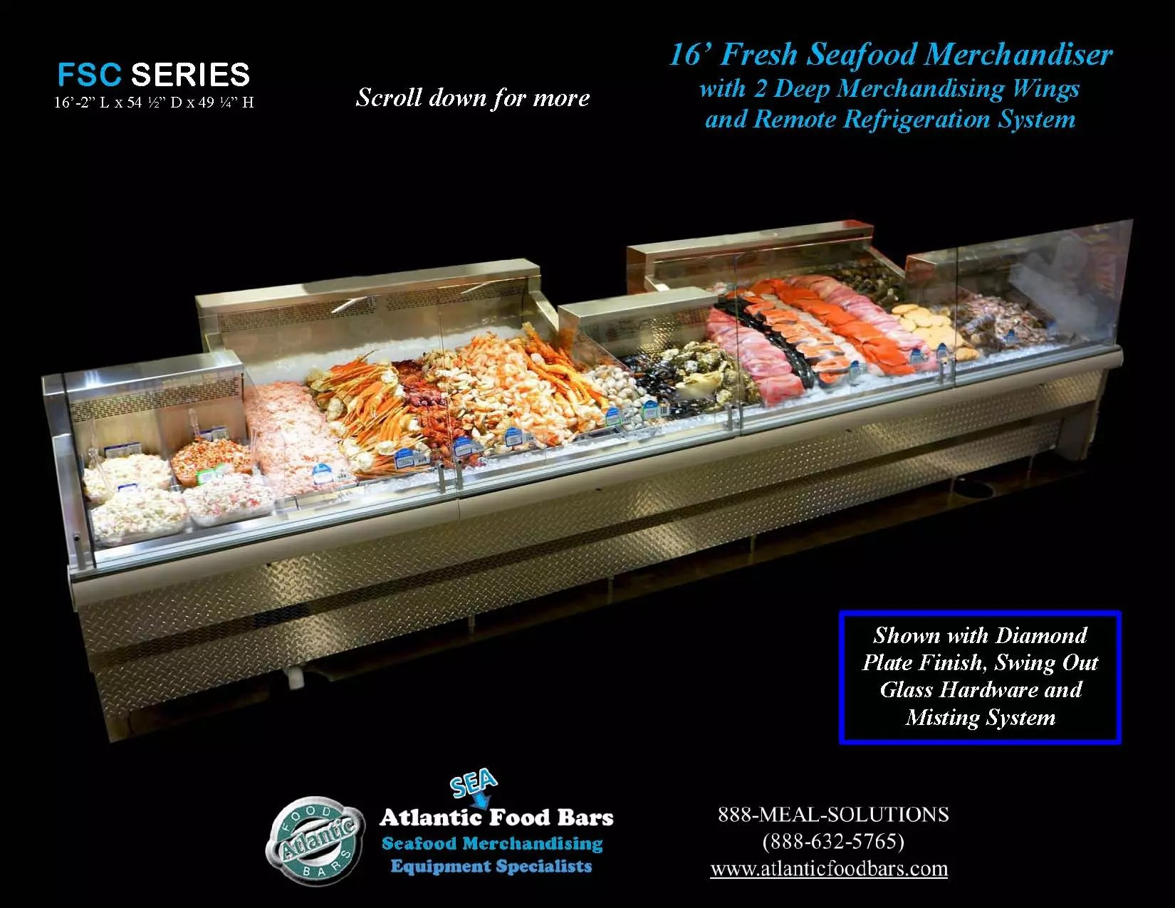 "harris seafood case and solutions The company installed iceless seafood cases, which  when it comes to food  waste,"" says kasey harris,  with food solutions new england (fsne) fsne is  a."