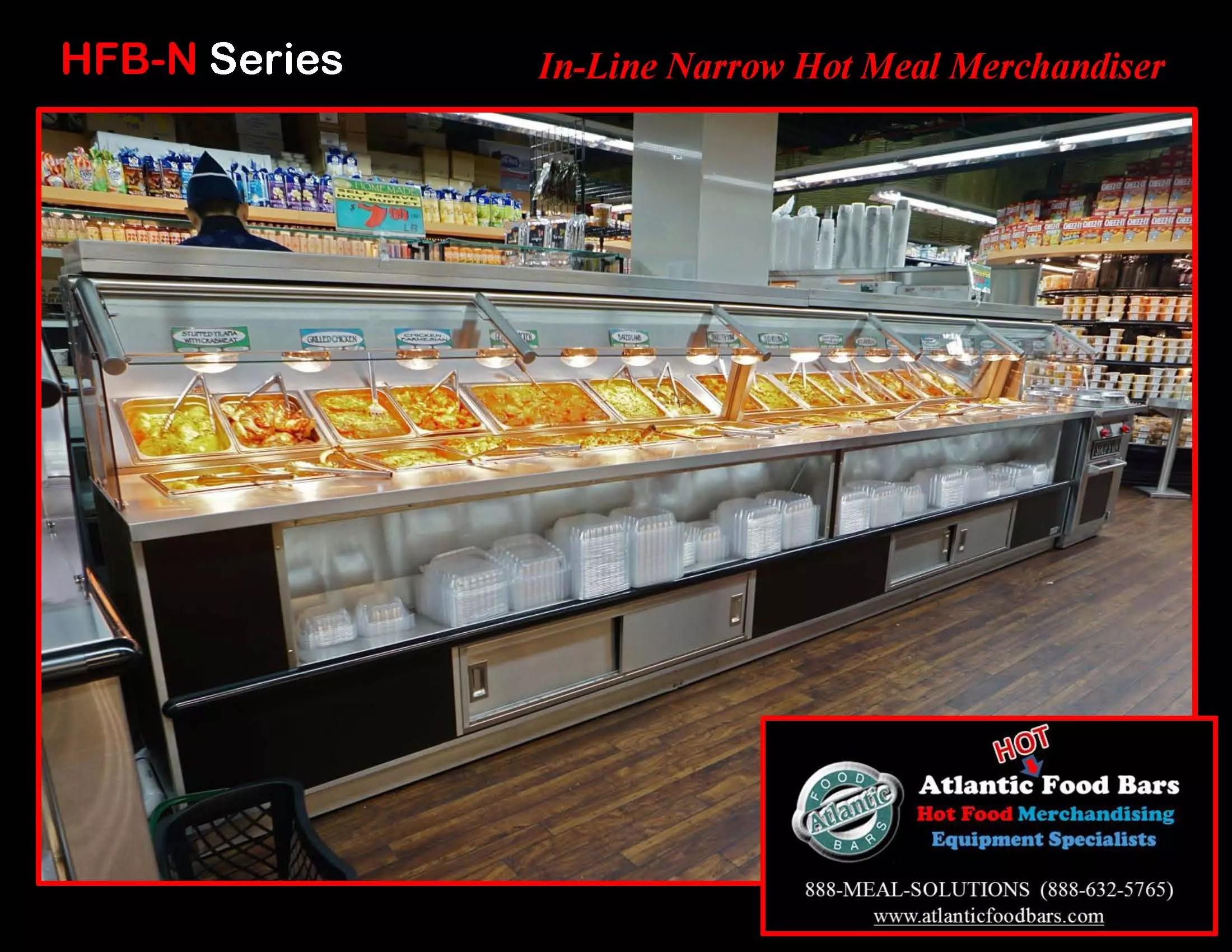 Atlantic food bars hot cold self serve meal center the for Food bar 2015