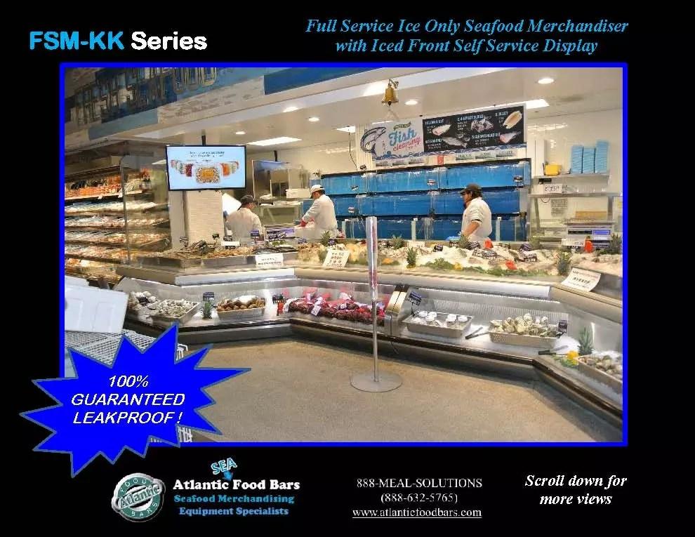 Atlantic food bars combination full self service seafood for Food bar 2015