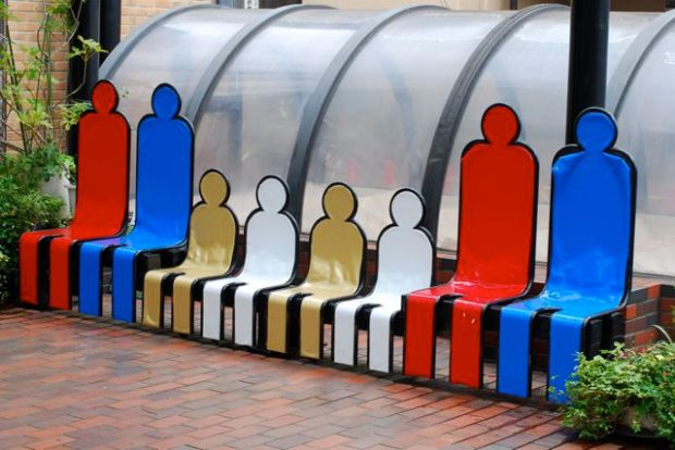 People bench