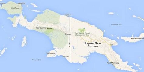 international-borders-Indonesia-Papua New Guinea