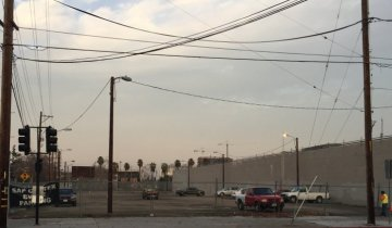 A vacant lot at the corner of West Julian Street and Stockton Avenue that was purchased on Jan. 16 for $4 million. Realty investors have grabbed a downtown San Jose property that's expected to be developed as a high-rise hotel, a lodging site that would sprout next to a planned Google transit village.  George Avalos  / Bay Area News Group