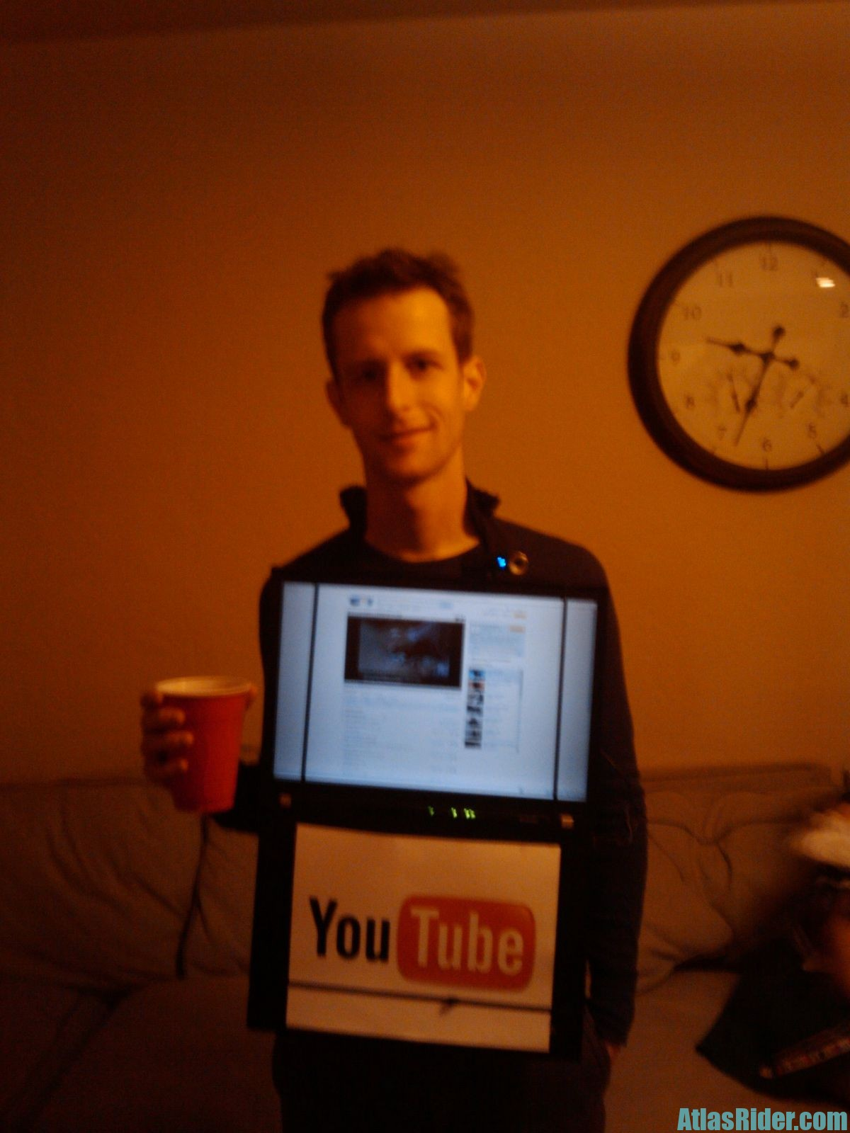 YouTube Halloween Costume