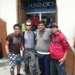 Peruvian Kids Posing With Gringo