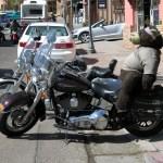 Teddy Bear Motorcycle Passenger