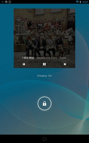 Android finally shows 3rd party music control on the lockscreen!