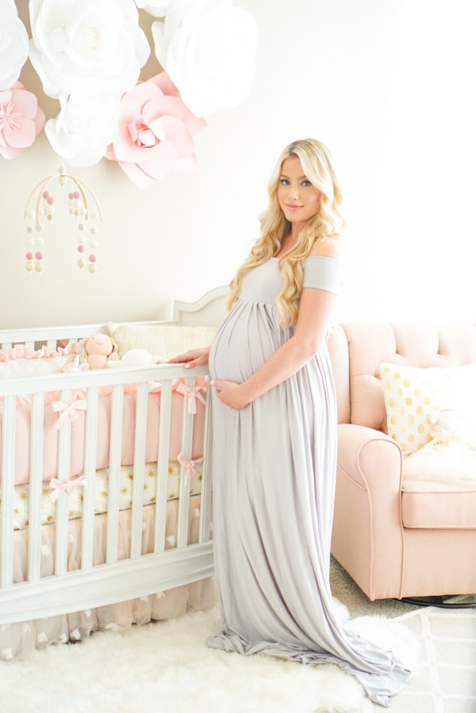 Blogger Katelyn Jones A Touch of Pink Pink Girl Nursery