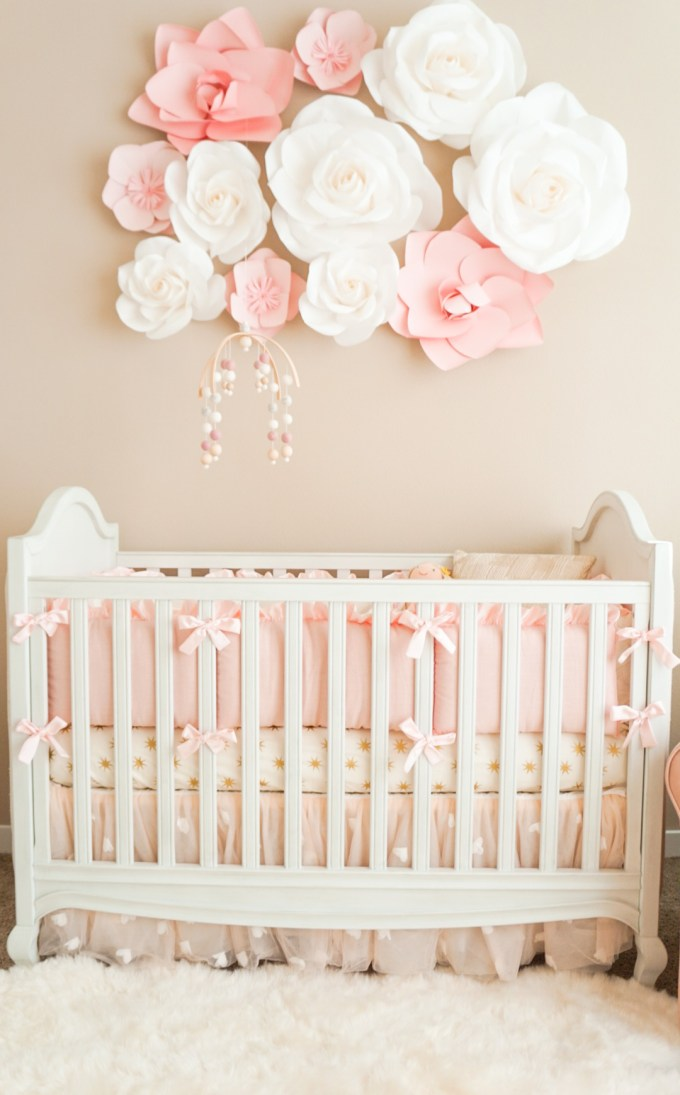 Blogger Katelyn Jones A Touch of Pink Nursery Reveal