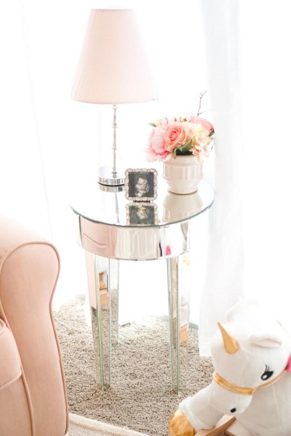 Blogger Katelyn Jones A Touch of Pink Nursery Reveal