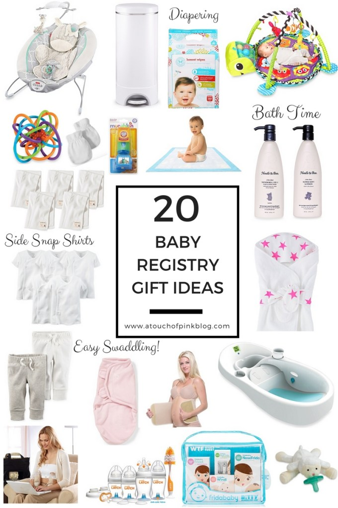 Katelyn Jones Blogger A Touch of Pink Blog Baby Registry Ideas