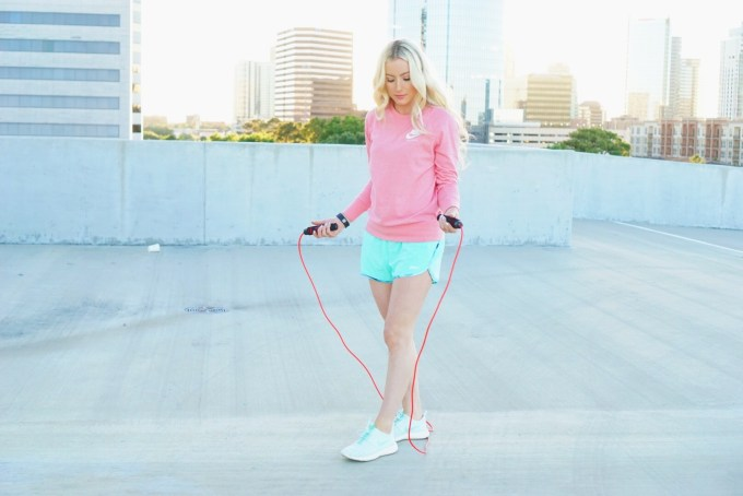 Katelyn Jones A Touch of Pink Blog Epitomie Fitness PowerSkip Jump Rope