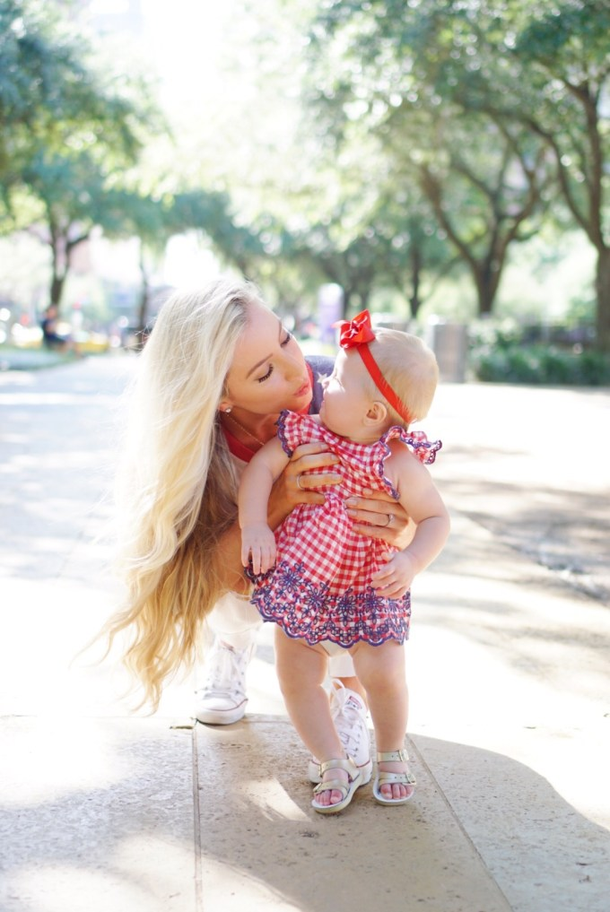 Katelyn Jones A Touch of Pink Blog Baby Girl Summer Outfit