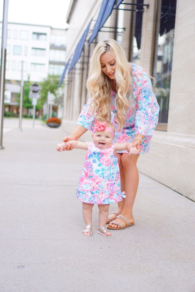 Katelyn Jones A Touch of Pink Blog Things Baby Girl Lily Pulitzer Dress