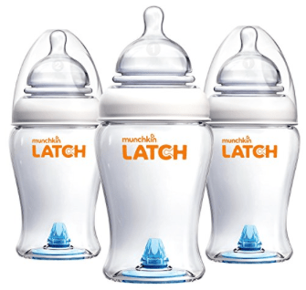 Katelyn Jones A Touch of Pink Amazon Prime Day 2017 Munchkin Latch Bottles