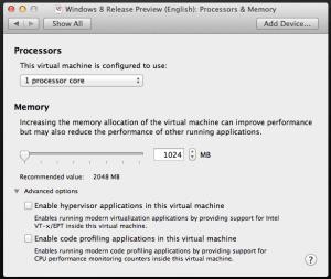 VMware Fusion 5: VM Configuration