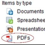 Upload and share PDFs in Google Docs