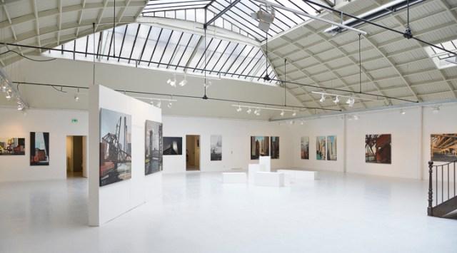 Exposition CHICAGO Express - Peintures de Chicago de Michelle AUBOIRON - Espace Commines - Paris - 2015