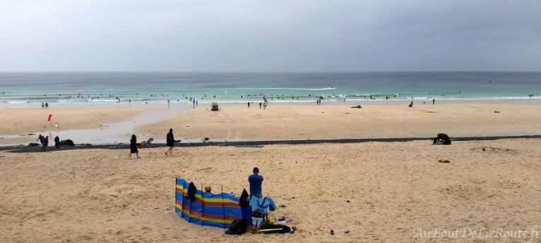 Porthmear beach