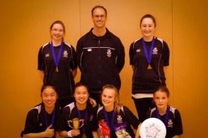 Avondale College - Winners Girls Division and Spirit
