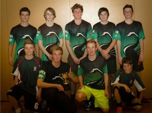 Westlake Boys High - Boys Division winners in AU Secondary Schools Term 3 Indoors