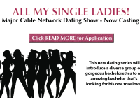 Casting flyer for single ladies dating show