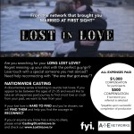 A&E Lost Love TV Series Now Casting Nationwide for People Wanting to Reconnect