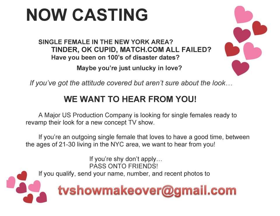 dating show casting calls 2014