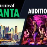 Carnival Cruises Auditions for Singers and Dancers Coming to Atlanta