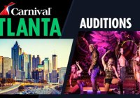 Auditions for Carnival coming to Atlanta