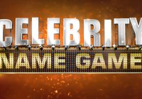 Celebrity Name Game auditions