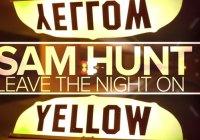 Sam Hunt Music Video Nashville