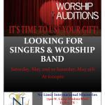 Auditions for Gospel Singers – Dallas