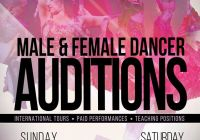 Bollywood dance auditions